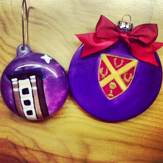Father Ryan High School Christmas ornaments