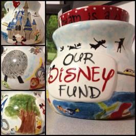 Our Disney Fund jar