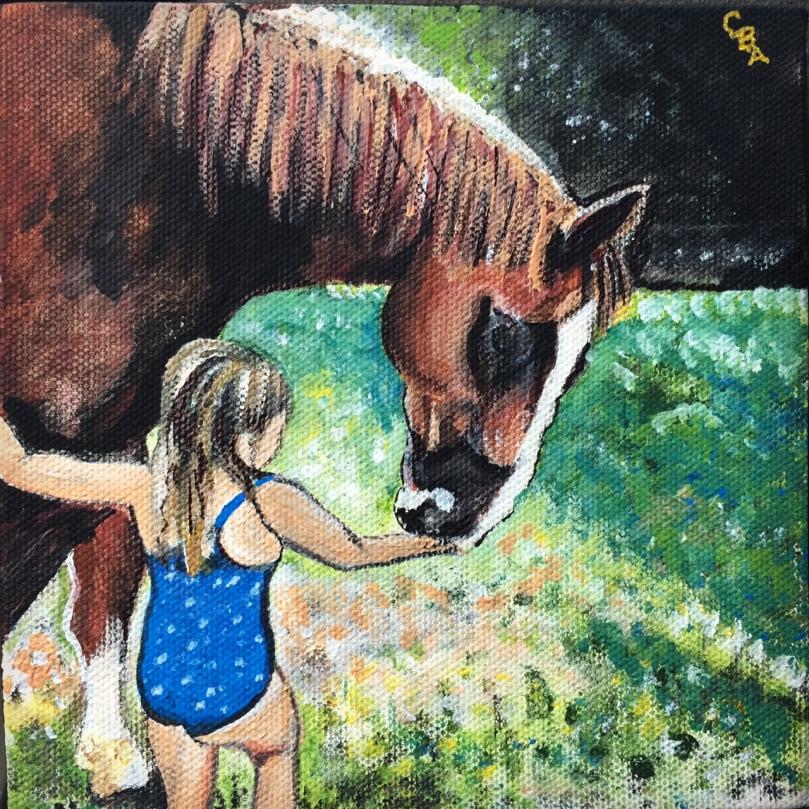 catiebeeart-horse